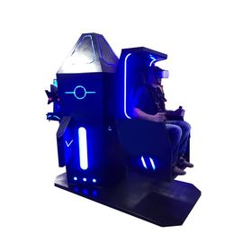 Arcade Virtual Reality Chair 9D Simulator With Shooting VR Games Cover Small Area