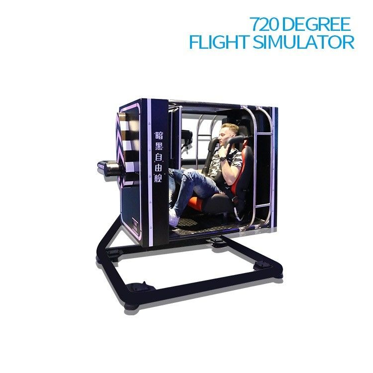 Roller Coaster VR Flight Simulator , 360 Degree Simulator For VR Business